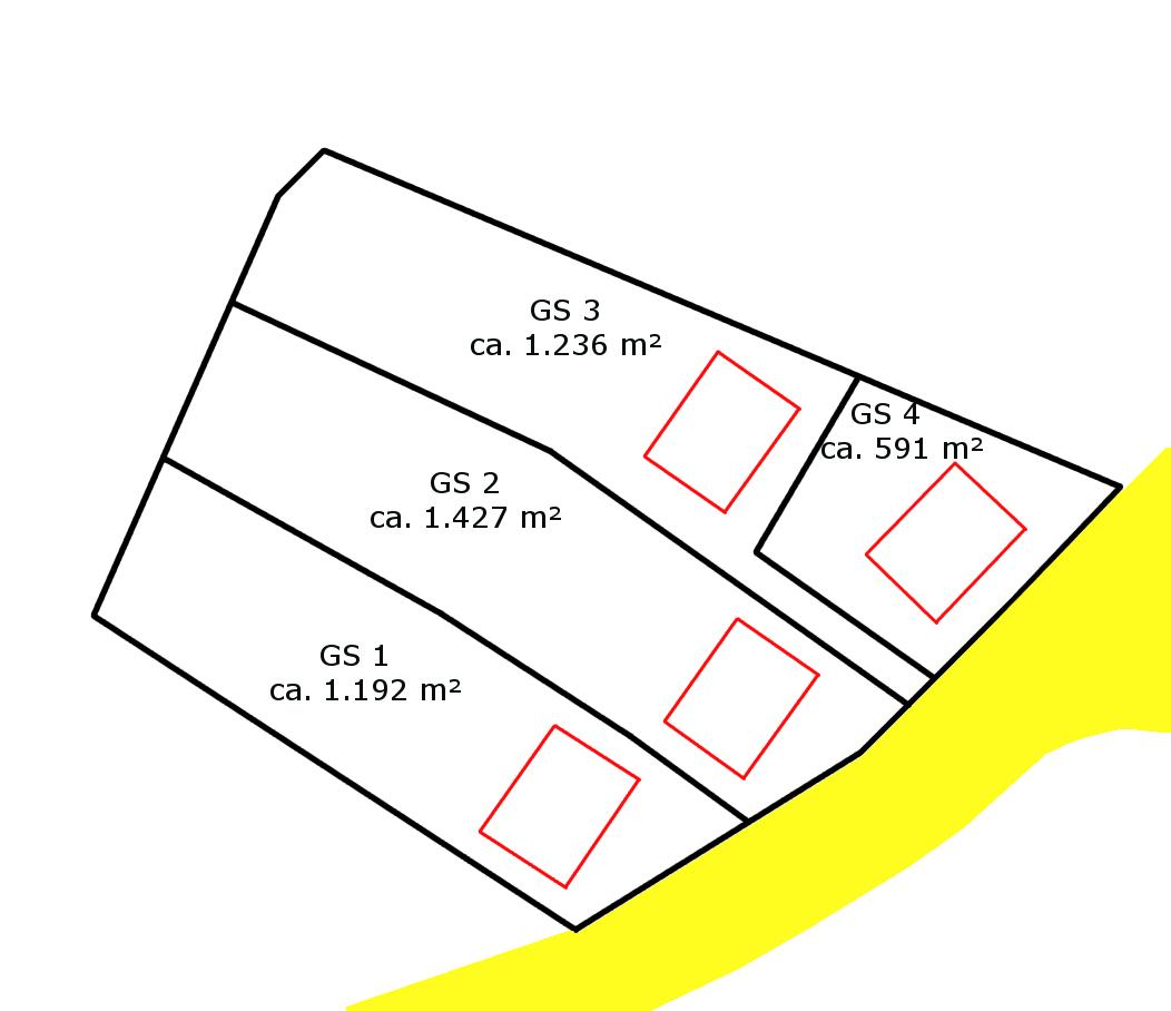 Parzellierung Reinberg